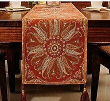 Tischtuch couchtisch dekoration cloth kleidung high quality möbel-B 40x250cm(16x98inch)
