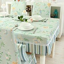 Tischtuch/Der Stil Garten Tischdecke/Einfachen Und Modernen Tisch-A 130x80cm(51x31inch)