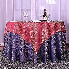 Tischtuch Double-style European Tischdecke Tuch Pastoral Tischdecke, Tischdecke Decke Handtuch Tisch Tuch Anzug Hotel Tischdecke Tischsets ( Farbe : C , größe : 1.0 m round )