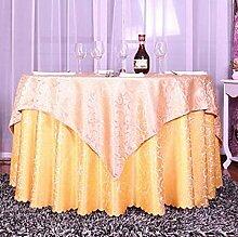 Tischtuch Double-style European Tischdecke Tuch Pastoral Tischdecke, Tischdecke Decke Handtuch Tisch Tuch Anzug Hotel Tischdecke Tischsets ( Farbe : C , größe : 2.0 m round )
