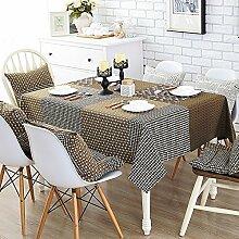Tischtuch Einfache und moderne couchtisch tuch