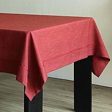 Tischtuch/Einfache Und Moderne Leinen Tischdecke/Saubere Tischdecke-F 140x200cm(55x79inch)