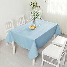 Tischtuch Einfarbig Wasserdicht Tischdecke Rechteck Tischdecke Tischdecke Tischdecke,C-90*90cm