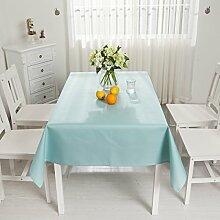 Tischtuch Einfarbig Wasserdicht Tischdecke Rechteck Tischdecke Tischdecke Tischdecke,D-120*120CM
