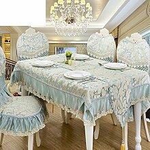 Tischtuch europäisch american style caterpillar hotels restaurant runder tisch tee tischdecke tischdecke-L 130x180cm(51x71inch)