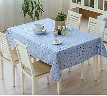 Tischtuch/Garten-Tischdecke/wasserdichte Tapete/ Kunststoff Tischdecke/Öl Einweg-Tischdecke/Tischdecke decke/Tischdecke decke/ längliche Tischdecke-A 100x140cm(39x55inch)