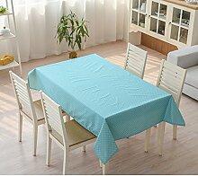 Tischtuch/Garten-Tischdecke/wasserdichte Tapete/ Kunststoff Tischdecke/Öl Einweg-Tischdecke/Tischdecke decke/Tischdecke decke/ längliche Tischdecke-B 140x220cm(55x87inch)