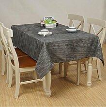 Tischtuch Home Wasserdichte Tischdecke Tuch Tisch Einfache Couchtisch Tuch Tischsets ( Farbe : A5 , größe : 140*220cm )