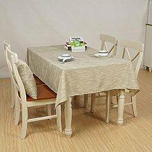 Tischtuch Home Wasserdichte Tischdecke Tuch Tisch Einfache Couchtisch Tuch Tischsets ( Farbe : A1 , größe : 140*200cm )