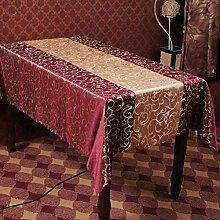 Tischtuch hotels restaurant hausgebrauch chemiefasern rechteck tischdecke tischdecke tee tischdecke-A 140x180cm(55x71inch)