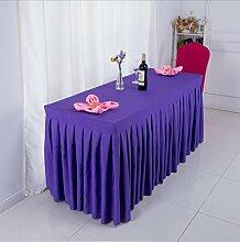 Tischtuch Konferenztischdecke Tisch Rock Stoff Tischdecke Aktivitäten Kälte Tischtuch, Schild, Tisch Rock Tischdecke Tischsets ( Farbe : C , größe : 3# )