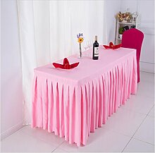 Tischtuch Konferenztischdecke Tisch Rock Stoff Tischdecke Aktivitäten Kälte Tischtuch, Schild, Tisch Rock Tischdecke Tischsets ( Farbe : C , größe : 9# )