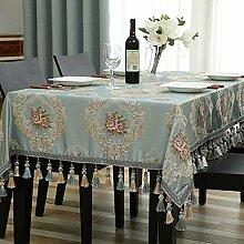 Tischtuch,längliche tischdecke,quadratische tischdecke-B 140x240cm(55x94inch)