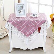 Tischtuch mit weißem lace dining zimmer