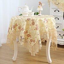 Tischtuch möbel clothed kleidung schreibtisch kleidung tisch tuch sauber-E 135x135cm(53x53inch)