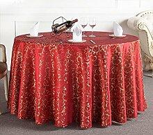 Tischtuch Runde Tischdecke Tischdecke Kaffeetischdecke Europäische Restaurant Hotel Tischdecke Platz Tischdecke Runde Tisch Tisch Rock Tischsets ( Farbe : B , größe : 1# )