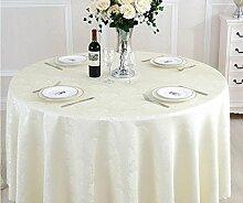 Tischtuch Runde Tischdecke Tischdecke Kaffeetischtuch European Restaurant Restaurant Tischdecke Platz Tischdecke Runde Tisch Tisch Rock Tischsets ( Farbe : E , größe : 8# )