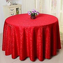 Tischtuch Runder Tisch Quadratischer Tisch Tischkultur Hotel Tischdecke Muster Servietten Tischdecke Tischsets ( Farbe : H , größe : 8# )