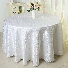 Tischtuch Runder Tisch Quadratischer Tisch Tischkultur Hotel Tischdecke Muster Servietten Tischdecke Tischsets ( Farbe : C , größe : 7# )