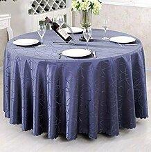 Tischtuch Runder Tischtuch European Style Pastoral Tisch Tischdecke Stoff Tisch Tischdecke Couchtisch Stoff Stoff Stoff Runde Tischsets ( Farbe : B , größe : 160*160cm )