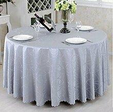 Tischtuch Runder Tischtuch European Style Pastoral Tisch Tischdecke Stoff Tisch Tischdecke Couchtisch Stoff Stoff Stoff Runde Tischsets ( Farbe : D , größe : Round180cm )