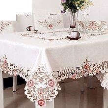 Tischtuch/stoffe/tischtuch/couchtisch stoff tischdecke/europäisch,ländlichen,einfache tischdecke-B 145x145cm(57x57inch)