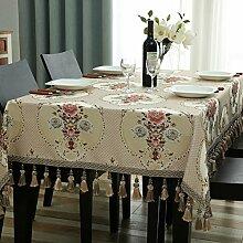 Tischtuch tisch tuch mit europäischen