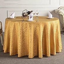 Tischtuch Tischdecke European Restaurant Hotel Tischdecke Wohnzimmer Couchtisch Tischdecke Runde Tisch Tischtuch Tischdecke Tischsets ( Farbe : B , größe : 3# )