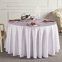 Tischtuch Tischdecke European Restaurant Hotel Tischdecke Wohnzimmer Couchtisch Tischdecke Runde Tisch Tischtuch Tischdecke Tischsets ( Farbe : C , größe : 8# )