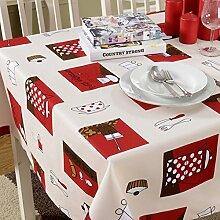 Tischtuch/Tischtuch/Tee Tischdecke/Europäischer Einfacher Stoff-garten Tischtuch-A 140x140cm(55x55inch)