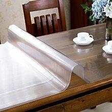 Tischtuch/Wasser Und Öl Beweis Tischdecke/Transparente Tischsets-F 85x140cm(33x55inch)