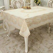 Tischtuch/wasserdicht tischdecke/pvc,einweg,vermeiden sie ein bügeleisen/-brett mat/europäisch,bronzing,restaurant,längliche tischdecke/tischdecke-G 137x182cm(54x72inch)