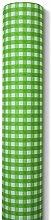 Tischtuchrolle Biertisch karo grün 0,80x25m