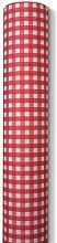 Tischtuchrolle Biertisch karo rot 0,80x25m Airlaid