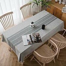 Tischwäsche 80x120cm, Schmutzabweisend,