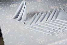 Tischwäsche-Set ClearAmbient Farbe: Blau/Grau