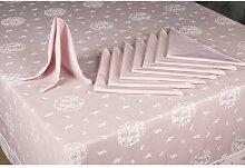 Tischwäsche-Set ClearAmbient Farbe: Hautfarbe