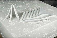 Tischwäsche-Set ClearAmbient Farbe: Salbei/Grün