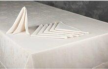 Tischwäsche-Set ClearAmbient Farbe: Steingrau
