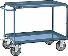 Tischwagen 2 Stahlblechwannen Trgf.400kg