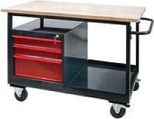 Tischwagen Eko 2 Arbeitswagen Arbeitstisch
