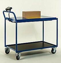 Tischwagen mit Waage Transportwagen Waagewagen 1120x600x1000 mm LxBxH8634-8115K-2C12
