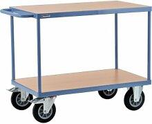 Tischwagen Stahlrohr RAL 5014 Tragfähigkeit 400kg