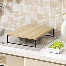 TISESIT INDOOR Rustikale Holz Küchenregal