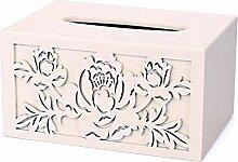 Tissue Box Europäische Papier Handtuch Box Holz
