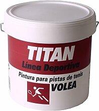 Titan Wandfarbe Tennis Volea grün Titan 4L