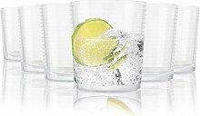 Tivoli Ambiance Wassergläser - 390 ml - Set aus 6