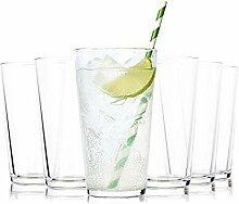 Tivoli Barcelona Wassergläser - 490 ml - Set aus
