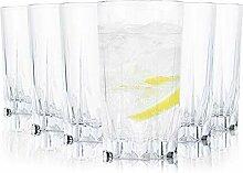 Tivoli Geneve Wassergläser - 450 ml - Set aus 6 -