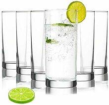 Tivoli Istanbul Wassergläser - 275 ml - Set aus 6